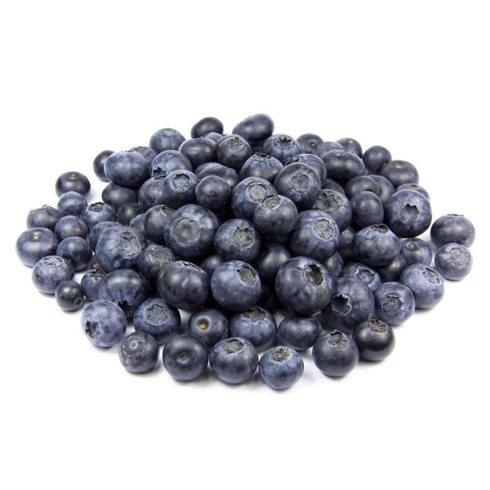 Blauwe bessen eten