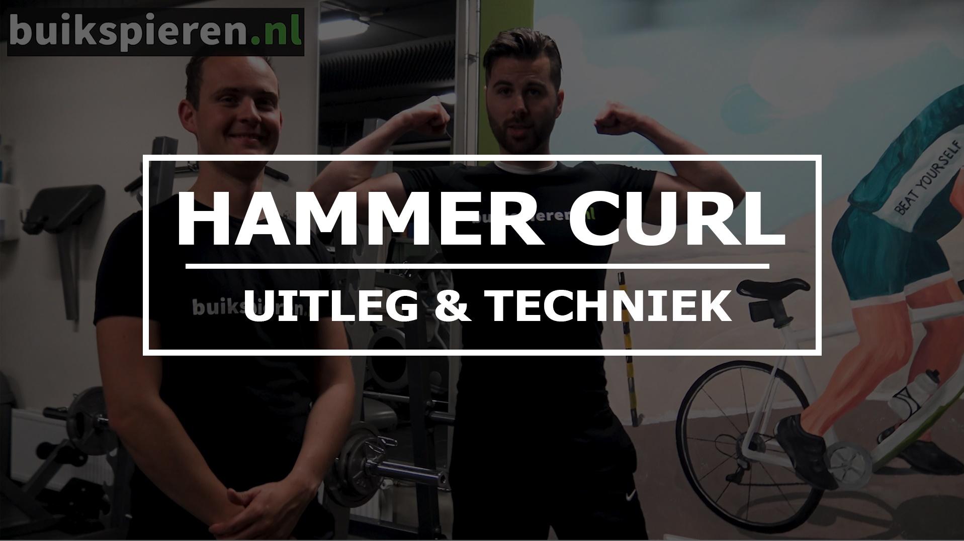 Buikspieren.nl Hammer Curl