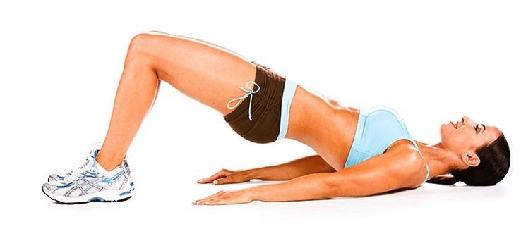 Oefening Hip Raise