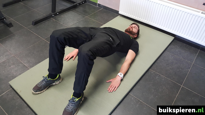 Hip raise - Eindhouding